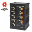 Switch Industrial PoE 8-puertos ISW-804PT-M12