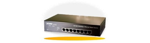Switch Ethernet Capa 2 WebSmart