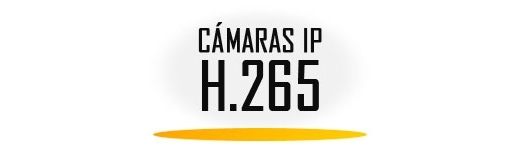 Cámaras IP H.265
